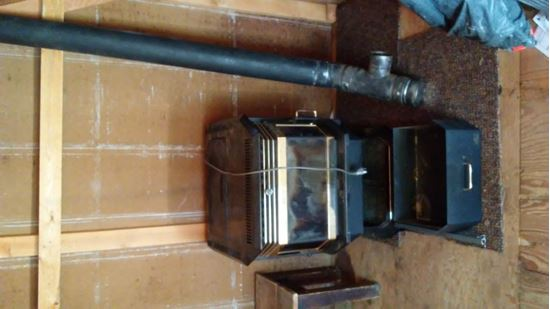 Picture of Pellet stove